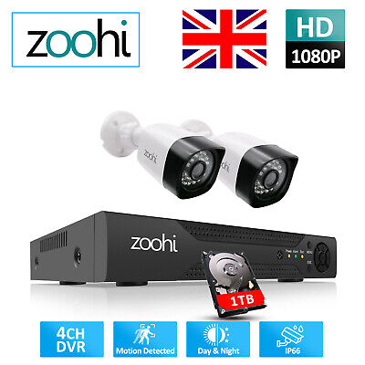 £56.99 • Buy ANRAN Home CCTV Security Camera System Outdoor Wired 8CH 1080N DVR 3000TVL 1080P