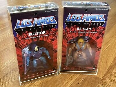 $209.99 • Buy Masters Of The Universe Los Amos He-Man Skeletor W/acrylic Cases Super7