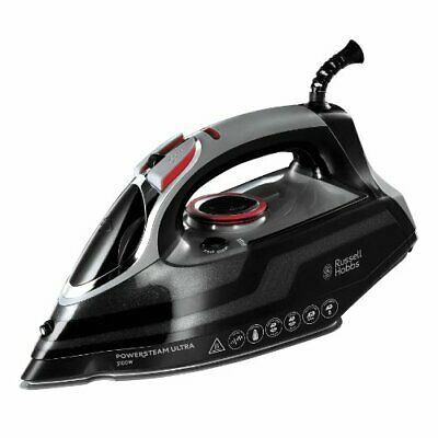 View Details Russell Hobbs Powersteam Ultra 3100 W Vertical Steam Iron 20630 - Black And Grey • 24.99£