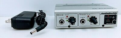 $39.95 • Buy M-Audio AudioBuddy Dual Mic Preamp/Direct Box For Microphones With Power Supply
