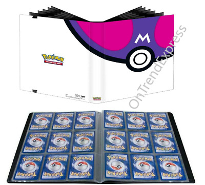 AU46.95 • Buy Master Ball Pokemon Ultra Pro Binder Folder Album 9 18 Pocket Holds 360 Cards