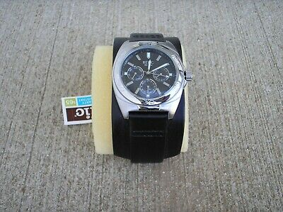 $250 • Buy Relic Mens Wide Leather Band Watch New NOS Nixon Lot Fossil Zr15402 Duke Cuff