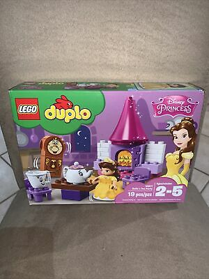 AU49.95 • Buy LEGO® DUPLO® 10877 Belle´s Tea Party Brand New! Sealed See Pics