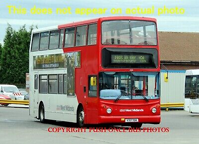 £1 • Buy 1 X National Express West Midlands Y717 TOH 4126 6 X 4 Inch Bus Photo REF L41