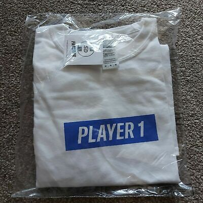 Brand New Game Player 1 Playstation 5  T Shirt - Size Large • 8.49£