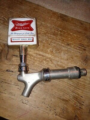 $45 • Buy Vintage Miller High Life Beer Tap Handle With SPOUT