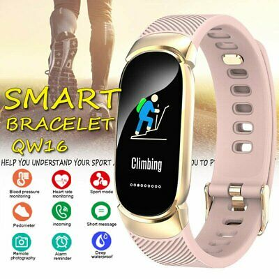 AU31.90 • Buy Waterproof Smart Watch Band Heart Blood Pressure Rate Fitness For IPhone Android