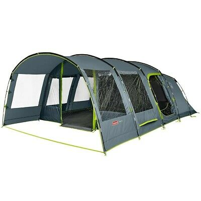 Family Camping Tunnel Tent6 Person Large Coleman Vail 4 RoomsMaximum Space • 509.99£