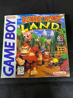 AU89.13 • Buy Donkey Kong Land Gameboy Complete In Box Manual