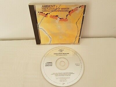 Harold Budd / Brian Eno - The Plateaux Of Mirror Ambient 2 Cd Music Album • 2.70£