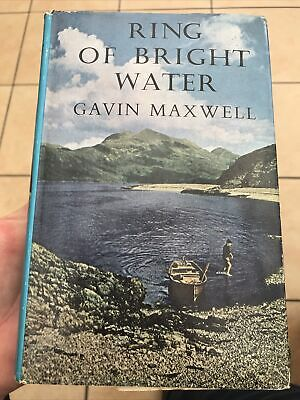 RING OF BRIGHT WATER -Gavin Maxwell - 1960 1st Edition -Dust Jacket HB Good Cond • 25£