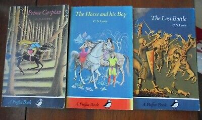 £6 • Buy C S Lewis X 3 Prince Caspian, Horse And His Boy, Last Battle