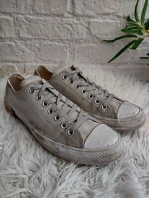 £16.99 • Buy Converse Grey Canvas & Camo Low Trainers Size UK 10 EU 44 Camouflage All Star