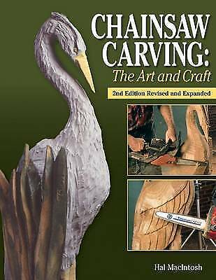 £20 • Buy Macintosh Hal-Chainsaw Carving Book NEW!