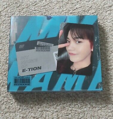 ONF My Name Blue Version With J_Us Photocard And E-Tion QR Card Official KPOP • 7£