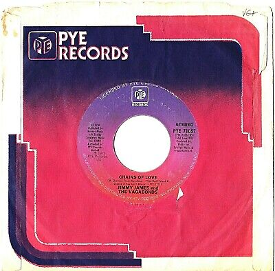 £10.99 • Buy Jimmy James & The Vagabonds Chains Of Love On Pye Records