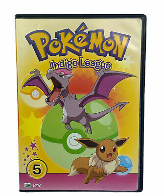 $16.99 • Buy Pokemon Indigo League Volume 5 DVD Complete Working Tested Ships Fast