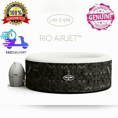 Lay-Z-Spa Rio 4-6 Person Inflatable Hot Tub Paris Cancun *Free Delivery 💫 • 541£
