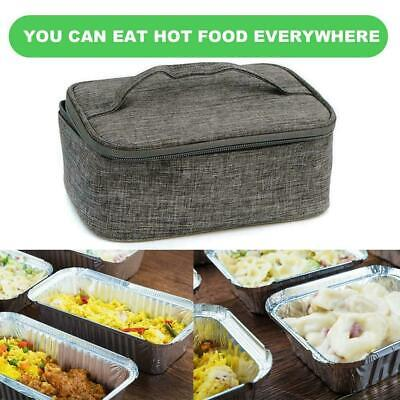 AU16.64 • Buy USB Thermal Insulation Lunch Food Box Warmer Heating Container Bag Storage R3W6