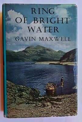 GAVIN MAXWELL Ring Of Bright Water FIRST EDITION 1/2 Otters NATURE Mijbil Edal • 24.99£