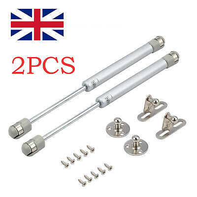 £7.25 • Buy 2x Gas Strut Stay Cabinet Door Hinge Lift Up Spring Flap Support 40-200N 268mm