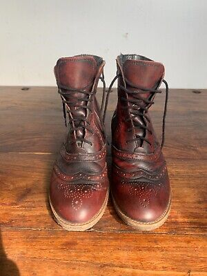 £50 • Buy Women's Shoes Embassy Burgundy Boots