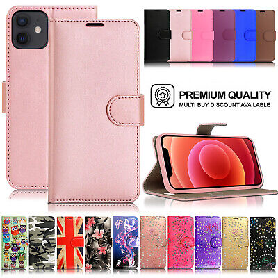 £1.99 • Buy Case For IPhone 12 11 PRO XS MAX XR X 8 7 6 Luxury Leather Flip Wallet Cover