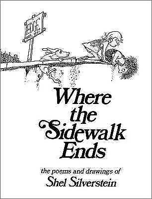 Where The Sidewalk Ends, Paperback  By Shel Silverstein  #62791 U • 8.90£