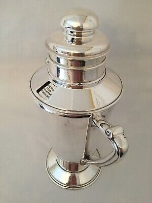 £399 • Buy Silver Plated Recipe Cocktail Shaker By EG Webster Circa 1920s.