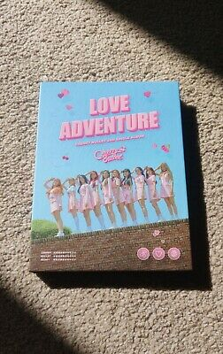 Cherry Bullet 2nd Single Album Love Adventure With Group Photocard Official KPOP • 7.50£