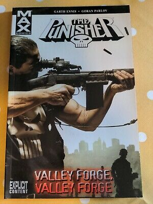 Punisher Max Vol.10: Valley Forge, Valley Forge By Marvel Comics (Paperback, 20… • 2£