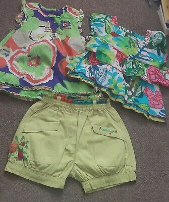 Set Girl 4 Years Catimini, Marese (2 Tops And Shorts) • 20£