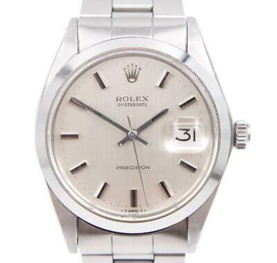 $ CDN3550 • Buy Rolex Oysterdate Precision 6694 Stainless 34mm Date Vintage Mens Watch C. 1970