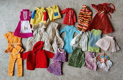 $ CDN36.34 • Buy Vintage Barbie Clone Clothes MEGO MADDIE MOD Outfit Lot  Skirt Dress Coat