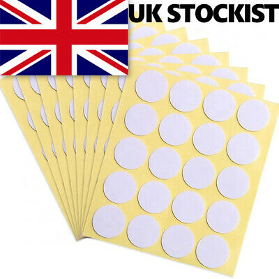 £3.95 • Buy 100 X Double-sided Adhesive Wick Foam Stickers Glue Dots Candle Making UK SELLER