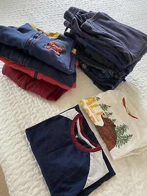 £10 • Buy Bundle Of Boys Clothes 5-7 Years 4 Hoodies 8 Trousers 2 Matching Tops Perfect Co
