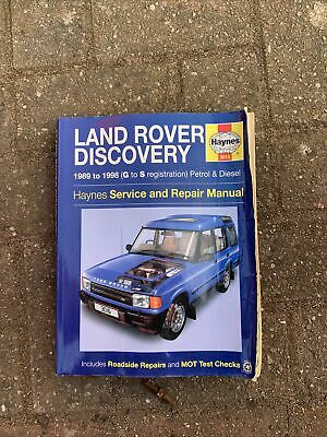 Land Rover Discovery 1989-1998 Haynes Service And Repair Manual • 2.70£