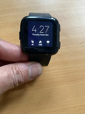 $ CDN103.63 • Buy Fitbit Versa 2 Activity Tracker - Small Black With Charger
