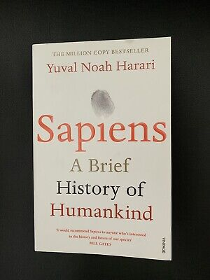 AU10.98 • Buy Sapiens: A Brief History Of Humankind By Yuval Noah Harari (Paperback, 2015)