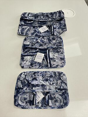£18.99 • Buy The Camouflage Company Set Of 3 Chic Travel Organisers Brand New Blue China
