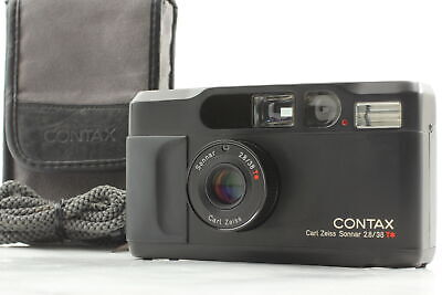 $ CDN2745.35 • Buy 【MINT In Case】 Contax T2 Limited Black 35mm Point & Shoot Film Camera 2000 JAPAN