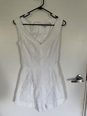 AU10 • Buy Finders Keepers White Playsuit XS