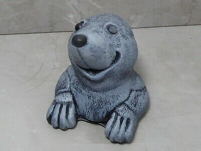 £15 • Buy Weathered Effect Cheeky Mole Cast Stone Garden Ornament 11cm Tall