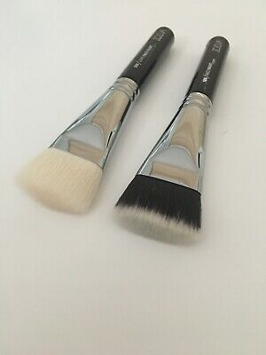 AU34.20 • Buy 2 Zoeva 109 Face Brushes Synthetic & Goat Hair With Pouch