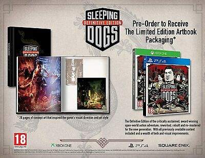 £27.99 • Buy Sleeping Dogs Definitive Limited Edition (Art Book) Xbox One NEW/SEALED OOP RARE