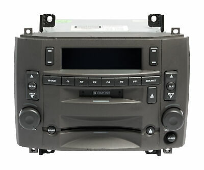 $225 • Buy 2003-2007 Cadillac CTS AM FM Radio Single Disc CD And Cassette Player 25741528
