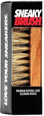 £6.50 • Buy Sneaky Brush Shoe Trainer Cleaning Brushes Crep Cleaning Brush Natural Bristles