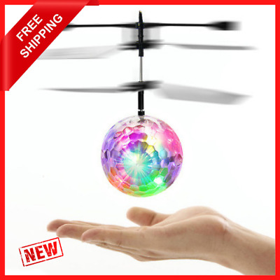 AU26.71 • Buy Toys For Boys Age 3 4 5 6 7 8 9 10 Year Old Flying Ball Mini Drone LED Light Up