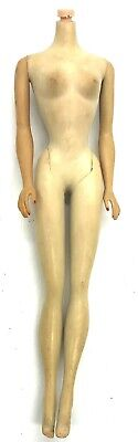 $ CDN197.38 • Buy Vintage #3 Ponytail Barbie Doll TM Body No Head 1960 Made In Japan Good Knob TLC