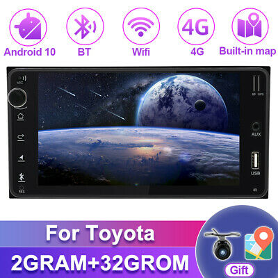 AU226.99 • Buy 7  Android 10.0 Head Unit For Toyota Car Stereo Radio GPS Navi RDS GPS DAB+OBD